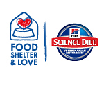 We Recommend - Hill's Food, Shelter & Love with Science Diet - Believe - Hill's Pet Nutrition Logo
